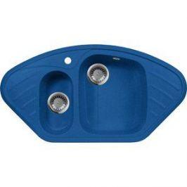 Кухонная мойка AquaGranitEx M-14 950х500 синий (M-14 (323))