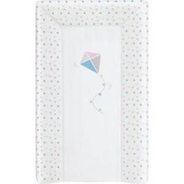 Матрас пеленальный Ceba Baby (Себа Беби) 80 см с изголовьем на кровать 125*65 см Kite bluepink W-211-070-023