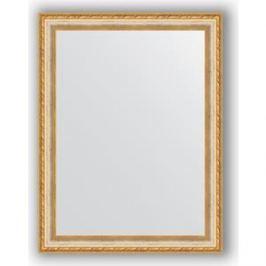 Зеркало в багетной раме поворотное Evoform Definite 65x85 см, версаль кракелюр 64 мм (BY 3173)