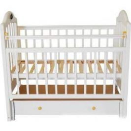 Кроватка Briciola Briciola-10 маятник продольный ящик автоматическая слоновая кость