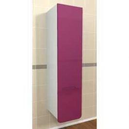 Пенал Меркана подвесной Адажио 30 см с 1-ним нижним ящиком фиолетовый (26088)