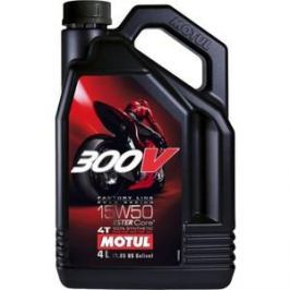 Моторное масло MOTUL 300V Factory Line Road Racing 15W-50 4 л