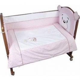 Комплект в кроватку Сонный Гномик Умка 3 предмета розовый (КСВ3-0364376/2)
