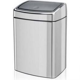 Ведро для мусора 10 л Brabantia Touch Bin (477201) полированная сталь
