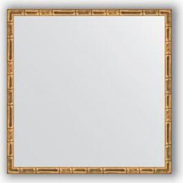 Зеркало в багетной раме Evoform Definite 57x57 см, золотой бамбук 24 мм (BY 0609)
