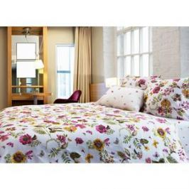 Комплект постельного белья TIFFANY'S secret Семейный, сатин, Ожидание лета