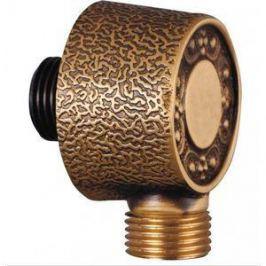Подключение душевого шланга ZorG Antic бронза (AZR 4 BR)
