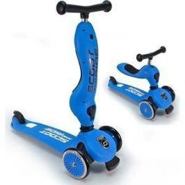 Самокат 3-х колесный Scoot and Ride с сиденьем HighwayKick (2 в 1) Blue (1186507/цв 1186517)