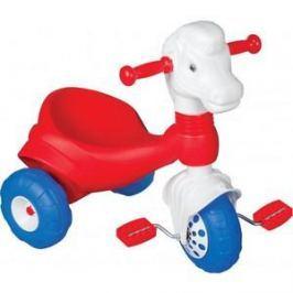 Трехколесный велосипед Pilsan Pony в подарочной упаковке цвет красно-белый (07-149)