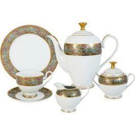 Чайный сервиз 23 предмета на 6 персон Midori Розовый берег (MI2-K6071-Y6/23-AL)