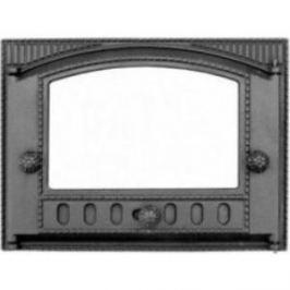 Дверца каминная Балезино ДТ-2С со стеклом