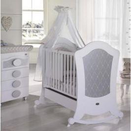 Кроватка Micuna Alexa BIG Relax 140*70 white/silver