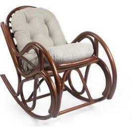 Кресло-качалка Мебель Импэкс Bella коньяк с подушкой