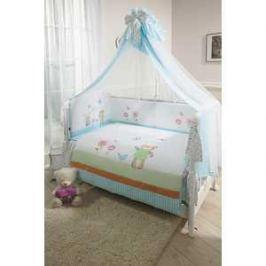 Комплект в кроватку 7 предметов Perina Глория Hello Г7-02.0