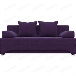 Диван-еврокнижка АртМебель Ник-2 микровельвет фиолетовый