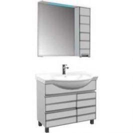 Комплект мебели Aquanet Доминика 80 №1 цвет белый