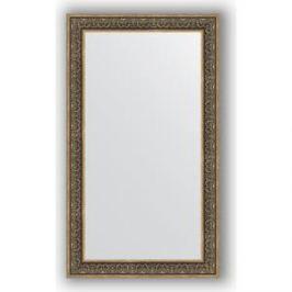 Зеркало в багетной раме поворотное Evoform Definite 83x143 см, вензель серебряный 101 мм (BY 3320)
