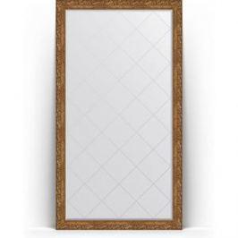 Зеркало напольное с гравировкой поворотное Evoform Exclusive-G Floor 110x200 см, в багетной раме - виньетка бронзовая 85 мм (BY 6352)