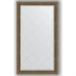 Зеркало с гравировкой поворотное Evoform Exclusive-G 99x174 см, в багетной раме - вензель серебряный 101 мм (BY 4422)