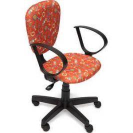 Кресло офисное TetChair СН413 принт Якоря на красном