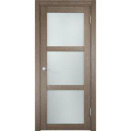 Дверь ELDORF Баден-2 остекленная 2000х800 экошпон Дуб дымчатый