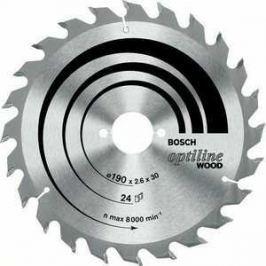 Диск пильный Bosch 190х20мм 36зубьев Optiline Wood (2.608.640.613)