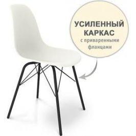 Стул Sheffilton SHT-S64 белый/черный муар