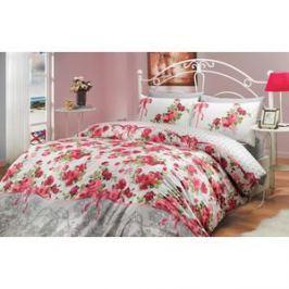 Комплект постельного белья Hobby home collection Евро, ранфорс, Felicita, красный (1501000227)