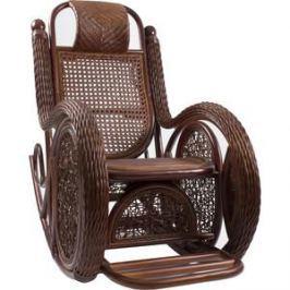 Кресло-качалка Мебель Импэкс Twist Alexa с подушкой коньяк