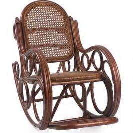 Кресло-качалка Мебель Импэкс Novo с подушкой коньяк