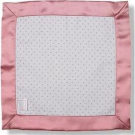 Комфортер платочек обнимашка SwaddleDesigns Baby Lovie - Flannel Bright Pink Dot (SD-009P)