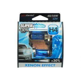 лампа AUTO STANDART H4 12В 60/55Вт Super White 2шт