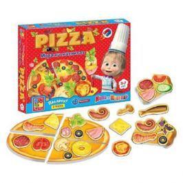 игра настольная Юный повар Пицца 20х3.5х24.5см