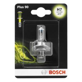 лампа BOSCH H7 12В 55Вт Plus 90%