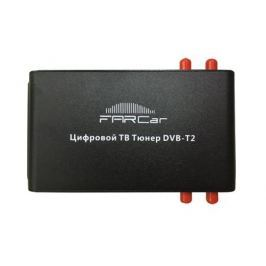 Цифровой автомобильный ТВ тюнер DVB-T2 FarCar (4 антенны)