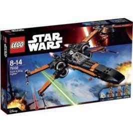 Конструктор Lego STAR WARS Истребитель ПО (POE'S X-WING FIGHTER) 75102