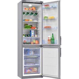 Двухкамерный холодильник Норд DRF 110 ISN нержавеющая сталь
