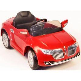 Электромобиль Lincoln с MP3 и пультом управления для родителей, красный
