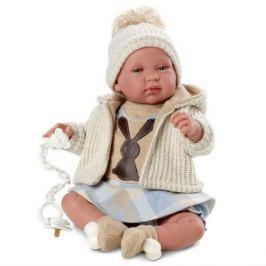 Кукла младенец 43 см со звуком, Llorens
