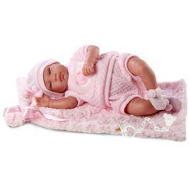 Кукла младенец 43 см с одеялом со звуком, Llorens