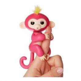 FINGERLINGS Интерактивная обезьянка Канди (розовая и голубая), 12 см, FINGERLINGS