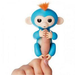 FINGERLINGS Интерактивная обезьянка БОРИС (синяя), 12 см, FINGERLINGS