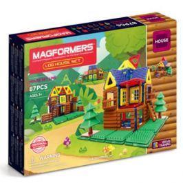 Магнитный конструктор MAGFORMERS 705004 Log House Set, MAGFORMERS