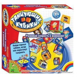 Настольная игра Bondibon , Танцующие кубики, арт. 1074, Bondibon