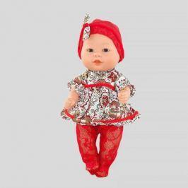 Кукла-пупс Carmen Gonzalez Бебетин в платье и красных колготках, Carmen Gonzalez