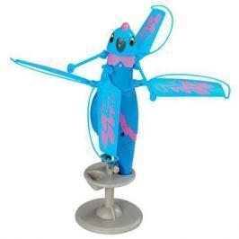 Zippi Pets Интерактивная, летающая птичка (Синяя)