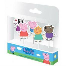 Набор свечей «Пеппа и друзья», Peppa Pig
