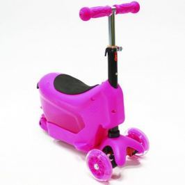 Самокат Hubster Comfort цвет розовый, Hubster