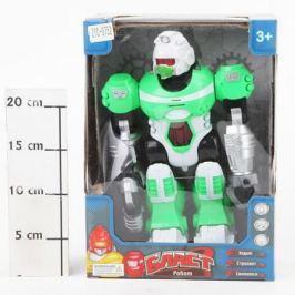 Робот Бласт на батар.,ходит,свет.,озвуч,подвижн.руки и голова,зелён.,ВОХ 20х11,5х28см,арт.ZYC-0752-2