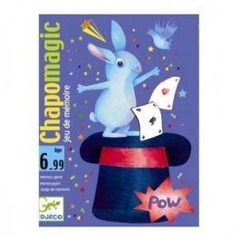 Карточная игра Шляпа волшебника, DJECO